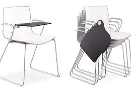 Konferenční židle sklopný stolek