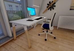 Atreo wood kancelářský stůl