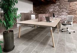 Kancelářské stoly ATREO WOOD