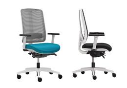 Kancelářská židle FLEXI White