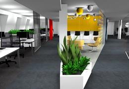 Návrhy dispozičního řešení interiéru ve 3D