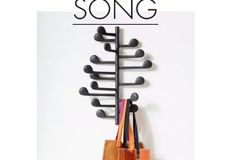 Nástěnný věšák SONG