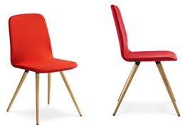 Jednací židle SUNRISE dřevěná noha