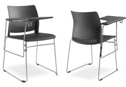 Konferenční židle odnímatelný stolek